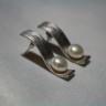 """,,Perle rodiate"""", cercei superbi din alama placata cu rodiu, calitate superioara, si perle de cultura; VANDUTI"""