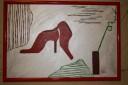 """""""Pasiune…la picioare"""", 48,5X33,5 cm"""