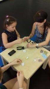 atelier cercei copii