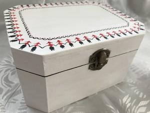 caseta cadou traditional romanesc