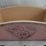 Cos de paine sau cos pentru depozitat papiote sau orice va doriti; poate fi decorat cu diverse tehnici si culori, persoalizat in functie de dorinte si necesitati; dimensiuni: 24,5 X 13,5 X 10 cm; cosul acesta este al meu, dar va pot lucra altul pe comanda